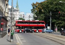 Bratislava, poschodový autobus