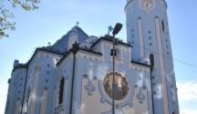 modry kostolik