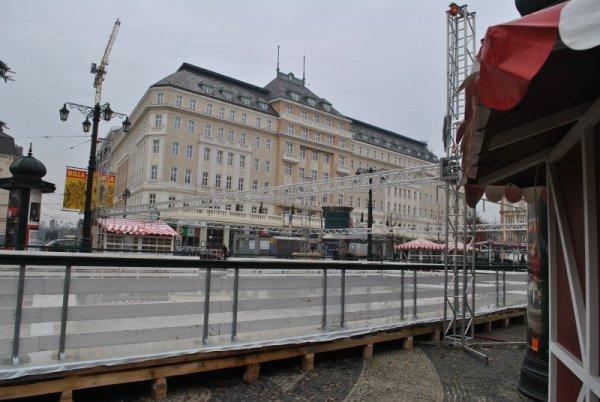 Vianočné trhy v Bratislave príprava
